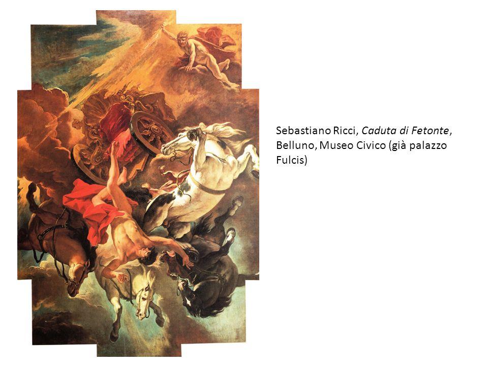 Sebastiano Ricci, Caduta di Fetonte, Belluno, Museo Civico (già palazzo Fulcis)