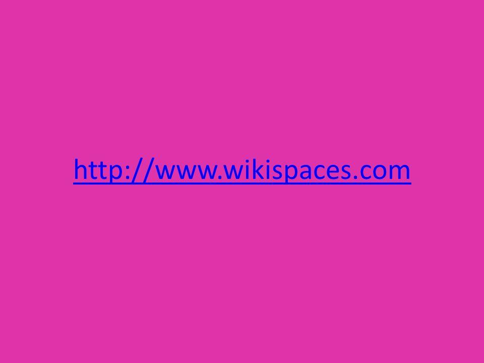 http://www.wikispaces.com