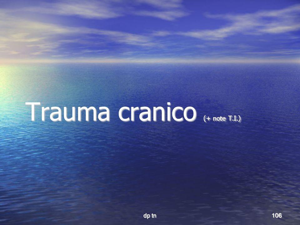dp tn106 Trauma cranico (+ note T.I.)