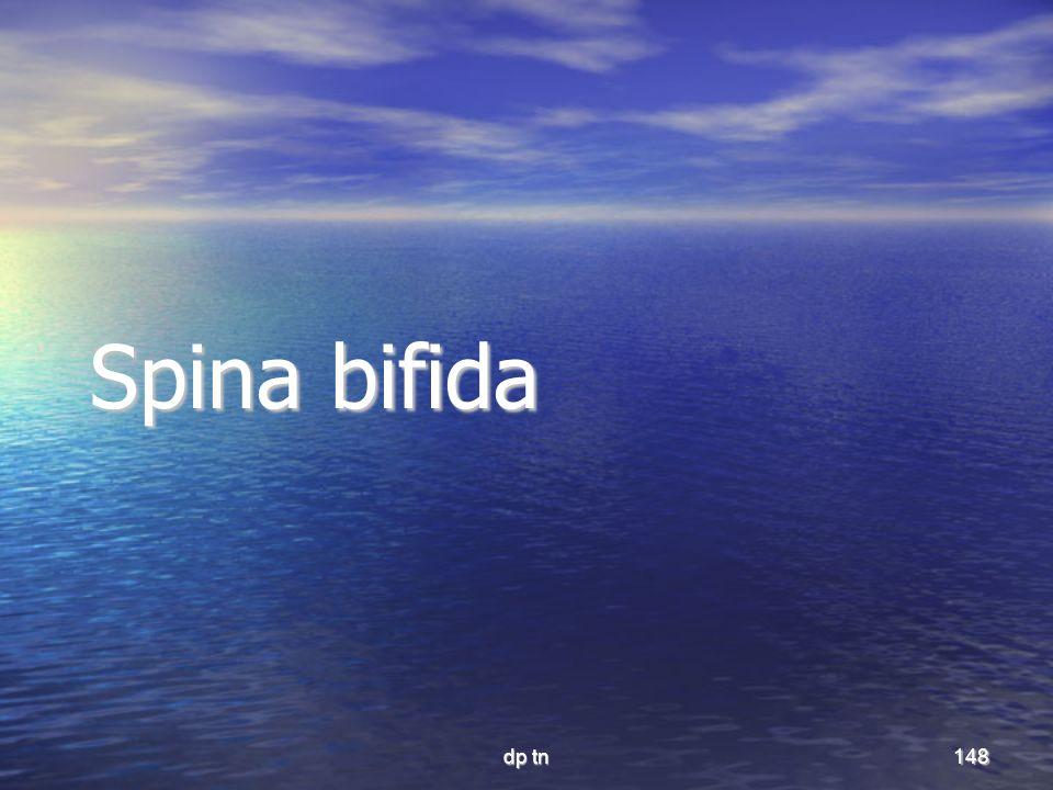 dp tn148 Spina bifida