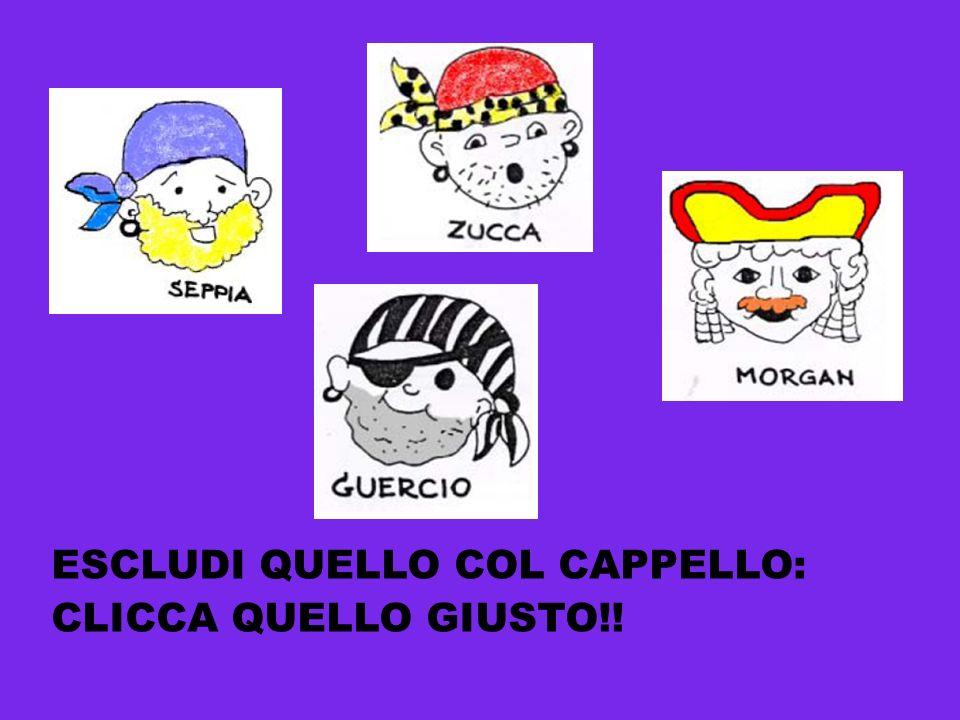 ESCLUDI QUELLO COL CAPPELLO: CLICCA QUELLO GIUSTO!!