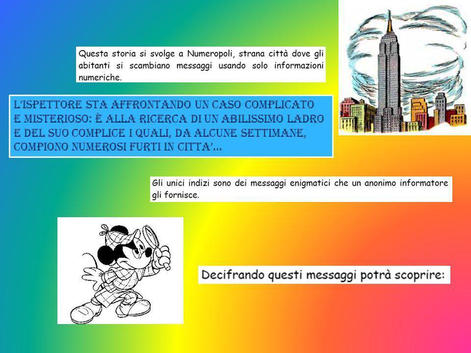 Lavoro realizzato dai corsisti del PON GIOCOMATICA per i compagnetti di 2^ Anno scolastico 2012-13 MISTE