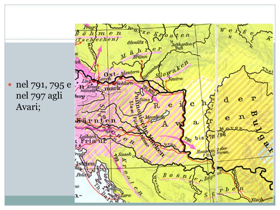 nell805-806 ai Boemi; Boemi (Cechi)