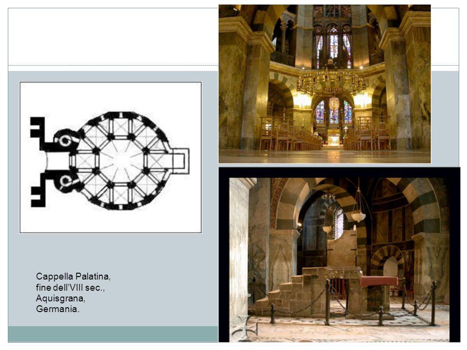 Trono di Carlo Magno, fine del secolo VII, Aquisgrana, Germania, cappella palatina.