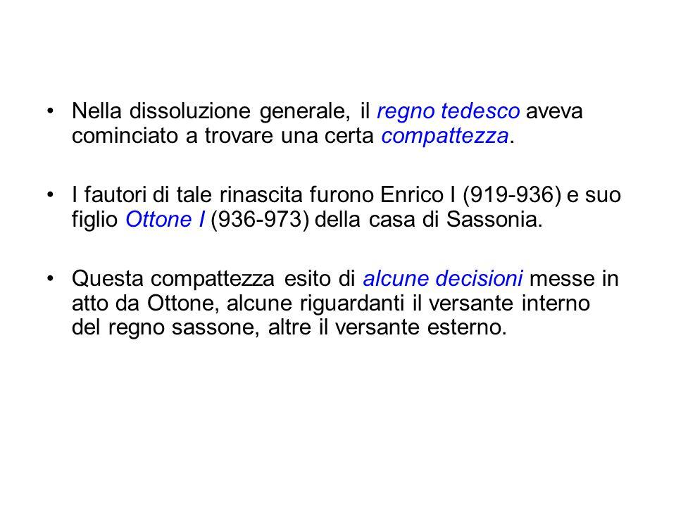 Terzo viaggio in Italia (966-972) di Ottone per ristabilire ancora lordine in città e provvedere con cruenta severità contro i ribelli.