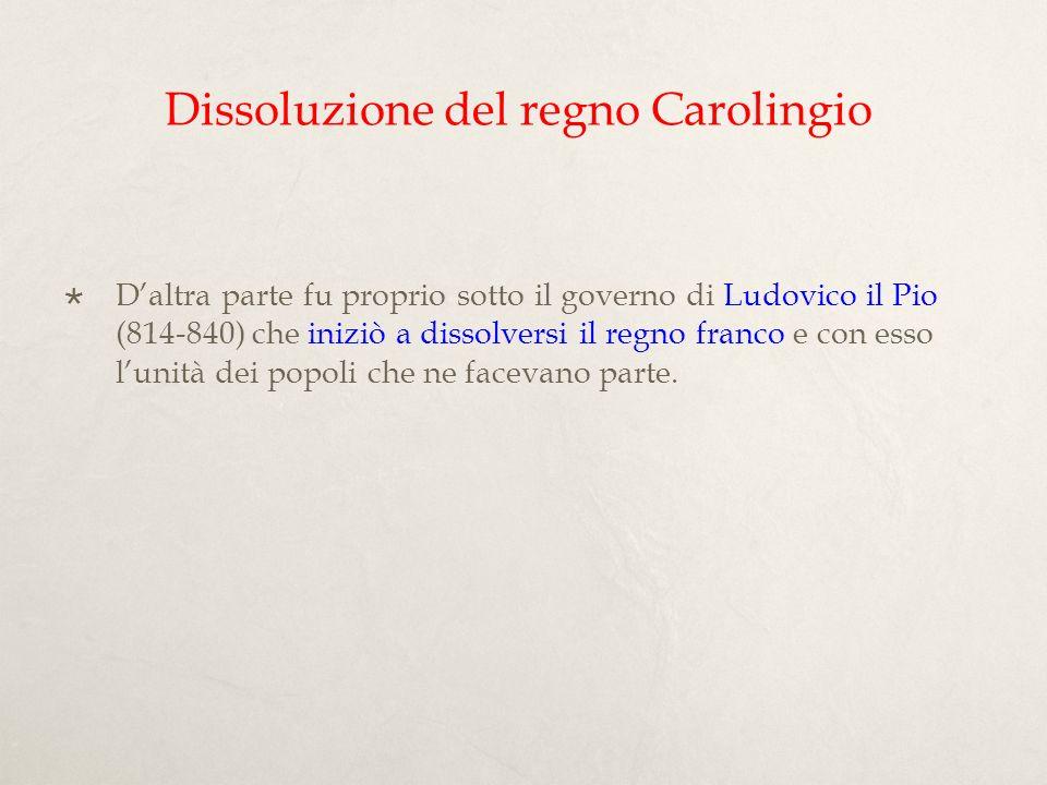 I figli di Ludovico il Pio: A.dal primo matrimonio con Ermengarda (+818): 1.