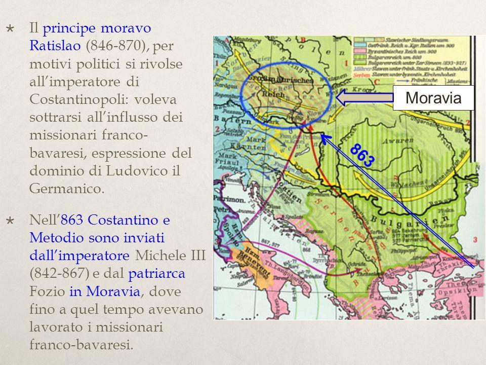 Successo dovuto alla traduzione della S.Scrittura e dei testi liturgici (secondo il rito romano) nella lingua popolare slava.