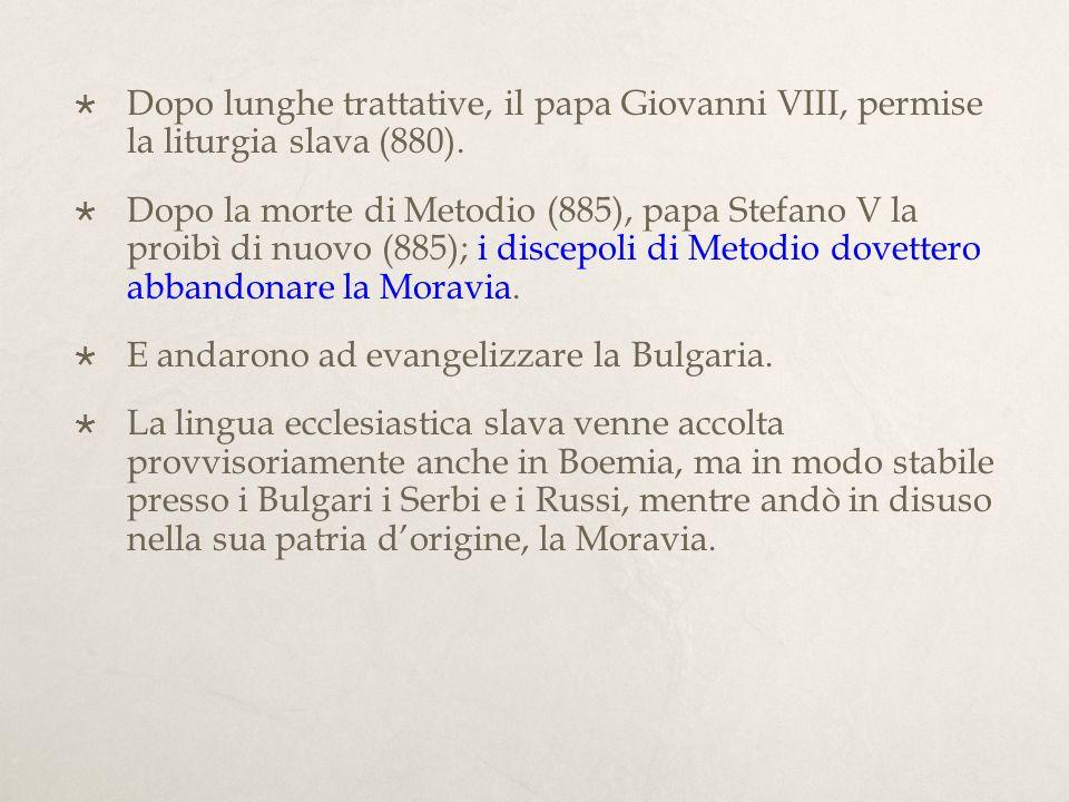 Con i successori di Nicolò I il papato venne coinvolto nei disordini crescenti che riguardavano lItalia.