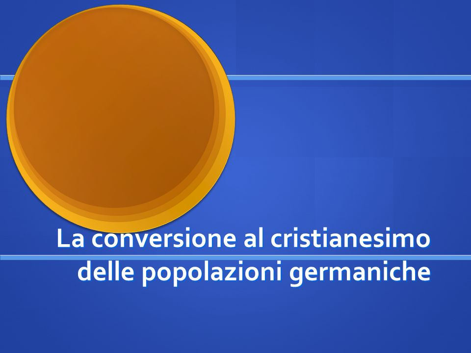 1 a Premessa Riordino dellImpero Romano da parte di Diocleziano (284-304) Per migliorarne lamministrazione e il governo Diocleziano divise lImpero in 4 parti: due costituivano lImpero Romano dOccidente; due lImpero Romano dOriente.
