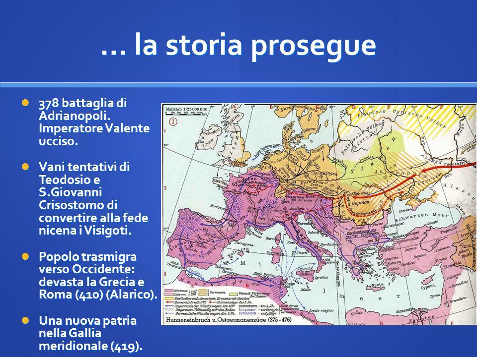 Sorse il primo regno germanico indipendente sul suolo romano.