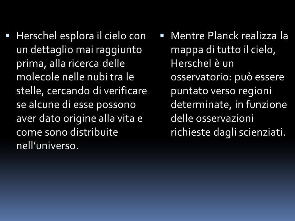 Herschel esplora il cielo con un dettaglio mai raggiunto prima, alla ricerca delle molecole nelle nubi tra le stelle, cercando di verificare se alcune