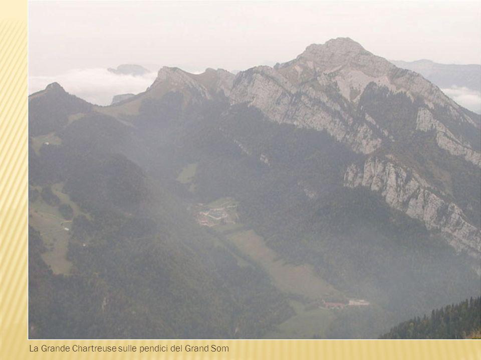 La Grande Chartreuse sulle pendici del Grand Som
