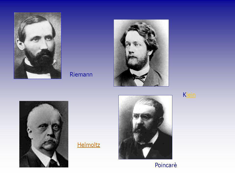 Riemann Kleinlein Helmoltz Poincarè