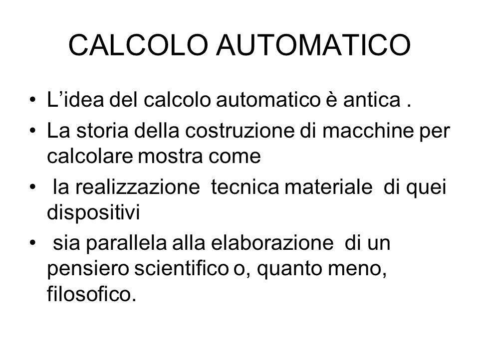 Si può meccanizzare il pensiero umano In modo da simularne il funzionamento mediante una macchina?