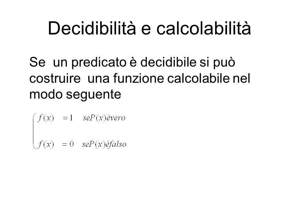 FUNZIONI CALCOLABILI Una mdT, ovvero un algoritmo, può essere considerata una funzione. Poiché il risultato si ottiene dopo un numero finito di passi