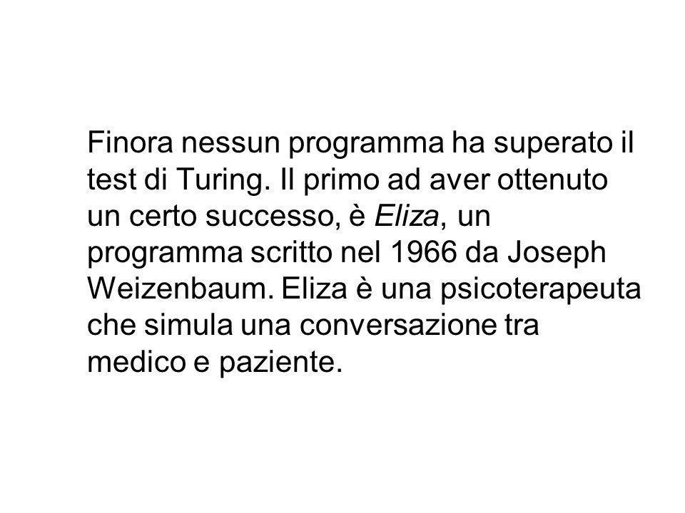 A Turing va dunque riconosciuto il grande merito di essere riuscito a trasformare una profonda domanda filosofica (