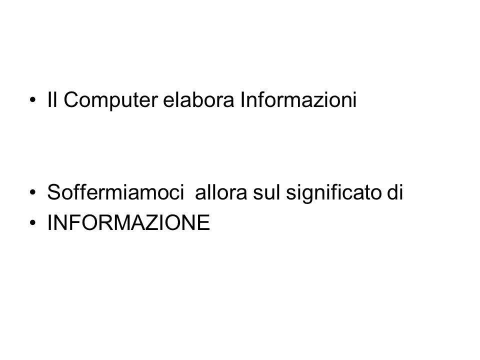INFORMATICA L'etimologia italiana di informatica proviene dai termini informazione e automatica, e sicuramente Philippe Dreyfus, che per primo utilizz