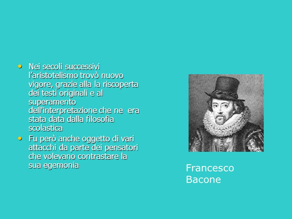 Risultato previsto dalla teoria aristotelica Disegno di Luca Di Rocco 4D