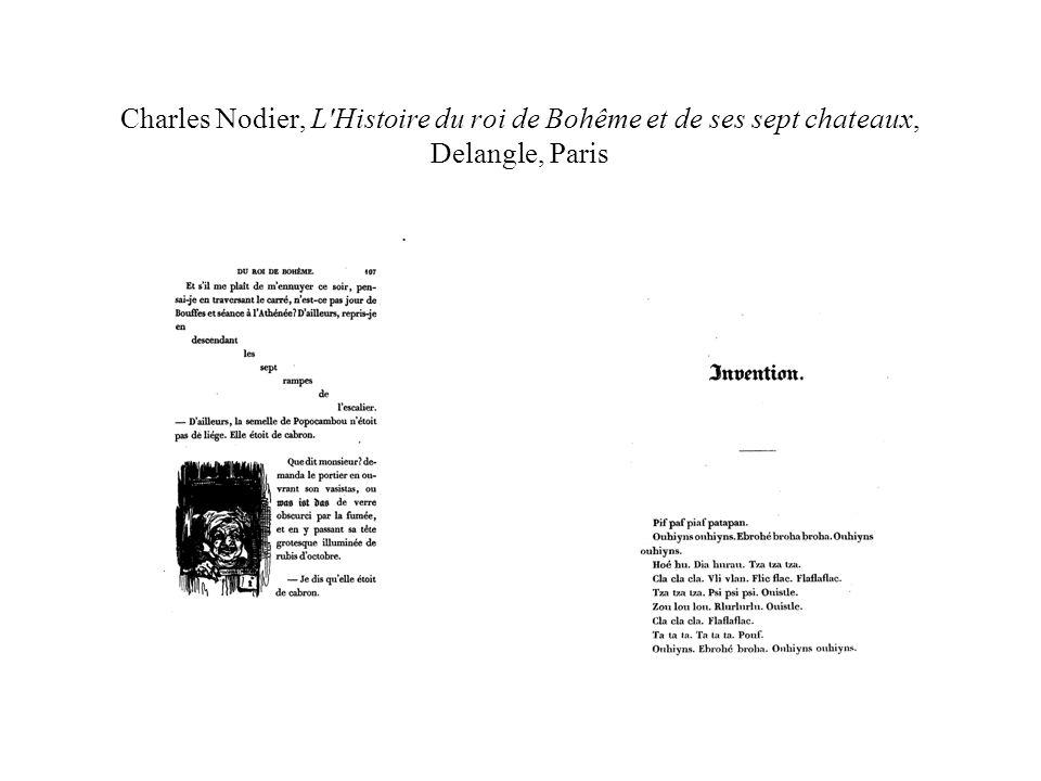 Charles Nodier, L'Histoire du roi de Bohême et de ses sept chateaux, Delangle, Paris