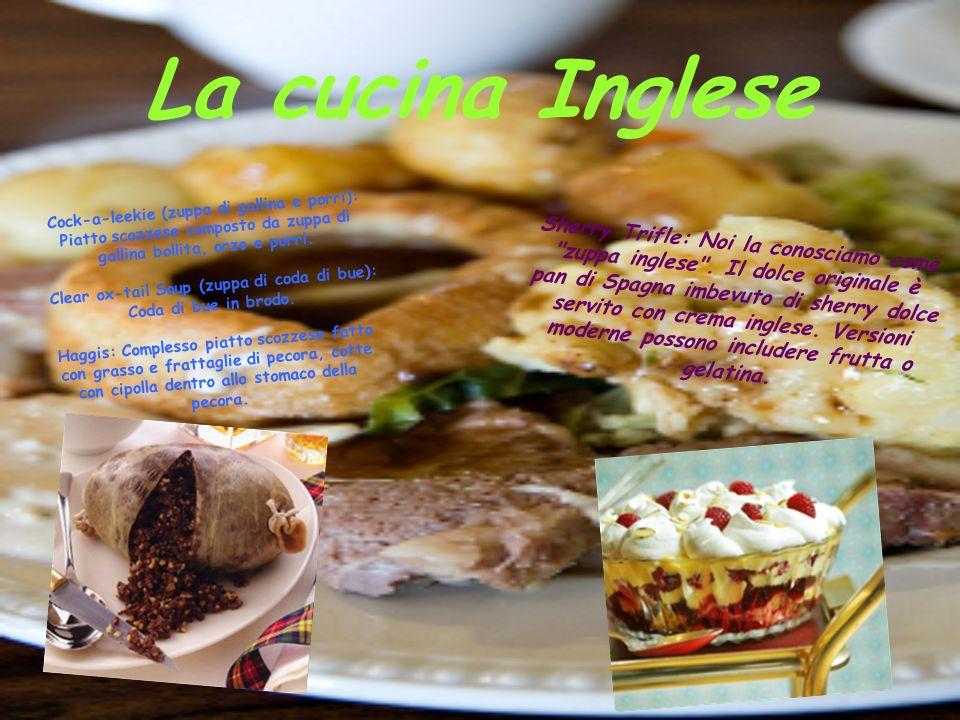 Specialità Inglesi -Formaggi: Per gli Inglesi è molto importante mangiare il formaggio dopo il dessert (perché dicono che chiude lo stomaco).