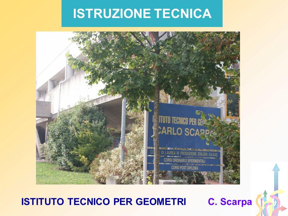 ISTITUTO TECNICO PER GEOMETRI C. Scarpa ISTRUZIONE TECNICA