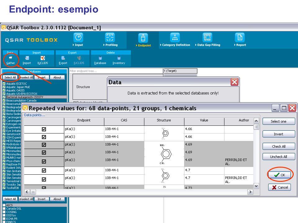 Endpoint: esempio