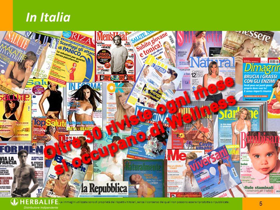 5 Le immagini utilizzate sono di proprietà dei rispettivi titolari, senza il consenso dei quali non possono essere riprodotte o ripubblicate. In Itali