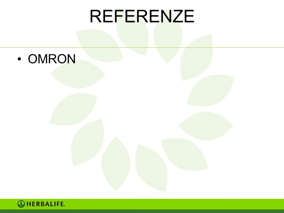 REFERENZE OMRON