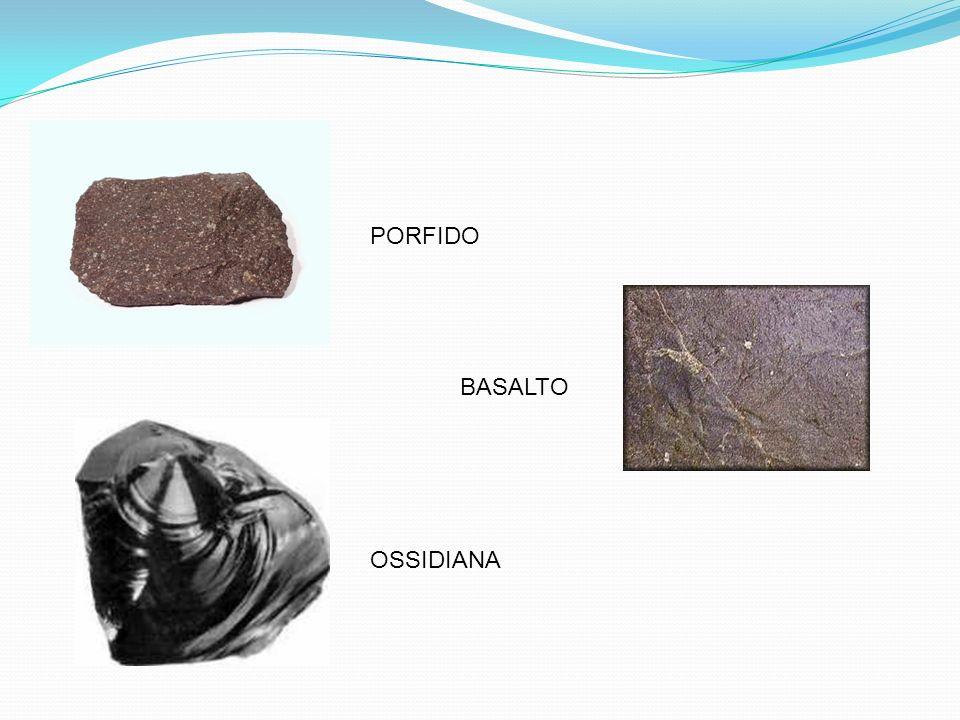 ROCCE SEDIMENTARIE Le rocce sedimentarie hanno origine da depositi di frammenti (sedimenti) di altre rocce o minerali, attraverso un processo che comprende varie fasi: Erosione della roccia madre; Trasporto dei detriti; sedimentazione dei detriti; Litificazione.
