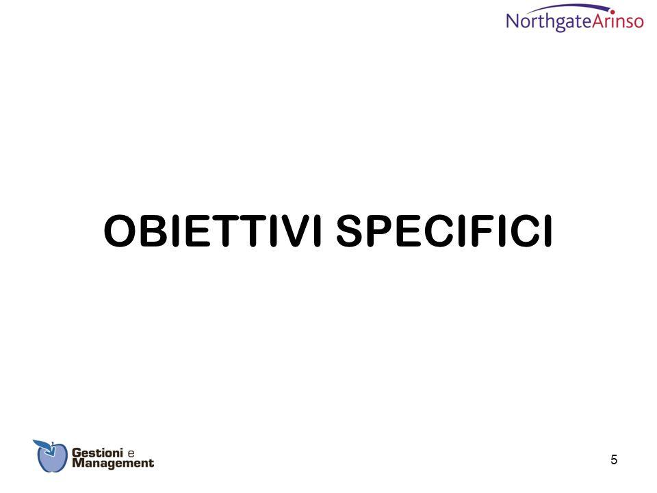OBIETTIVI SPECIFICI 5