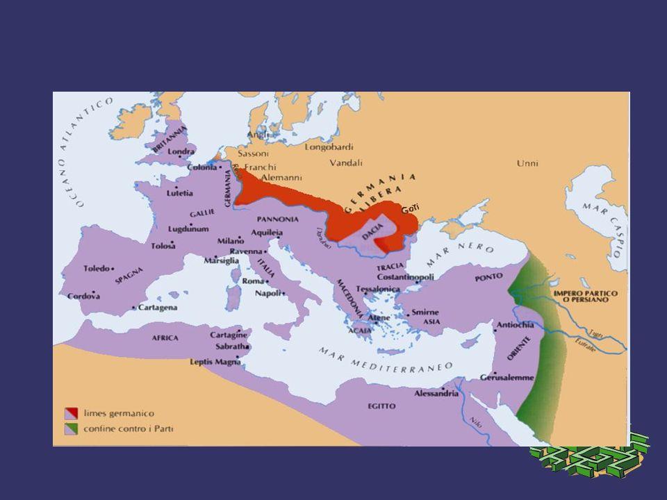 L IMPERO ROMANO nonostante la vastita territoriale era caratterizzato da una sostanziale omogeneita linguistica: IL LATINO garantita da: - presenza di una fitta rete amministrativa - scuole e biblioteche - efficienti vie di comunicazione