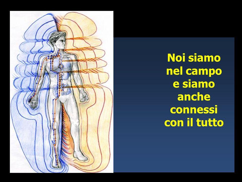 Latomo è un onda, è energia e tutte le onde insieme formano un campo.