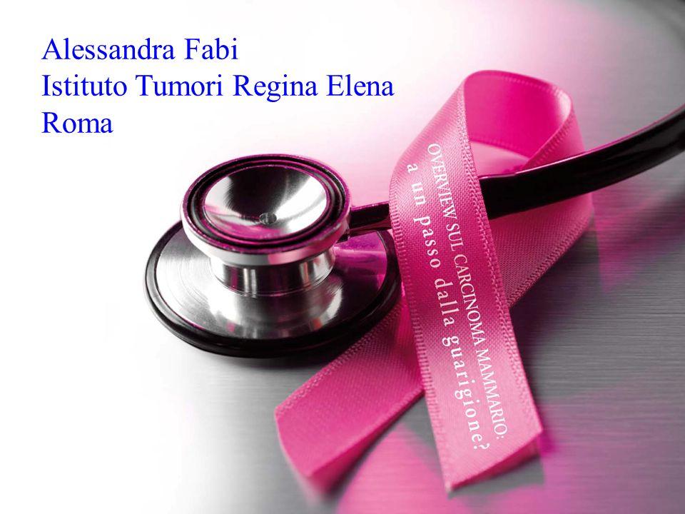 Alessandra Fabi Istituto Tumori Regina Elena Roma