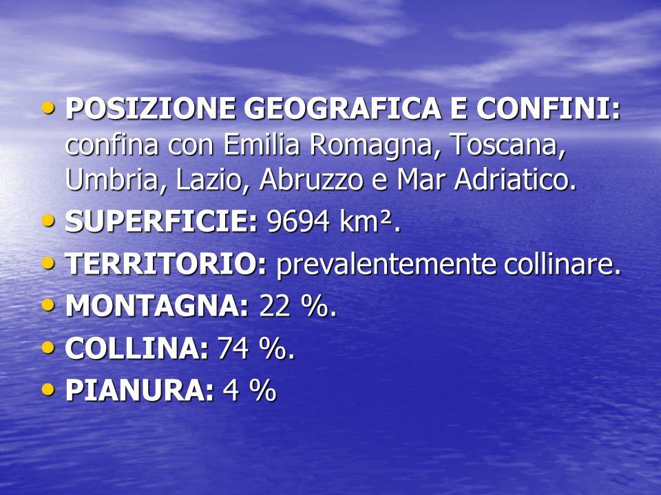 Le Marche sono una regione dell Italia centrale.Le Marche sono una regione dell Italia centrale.
