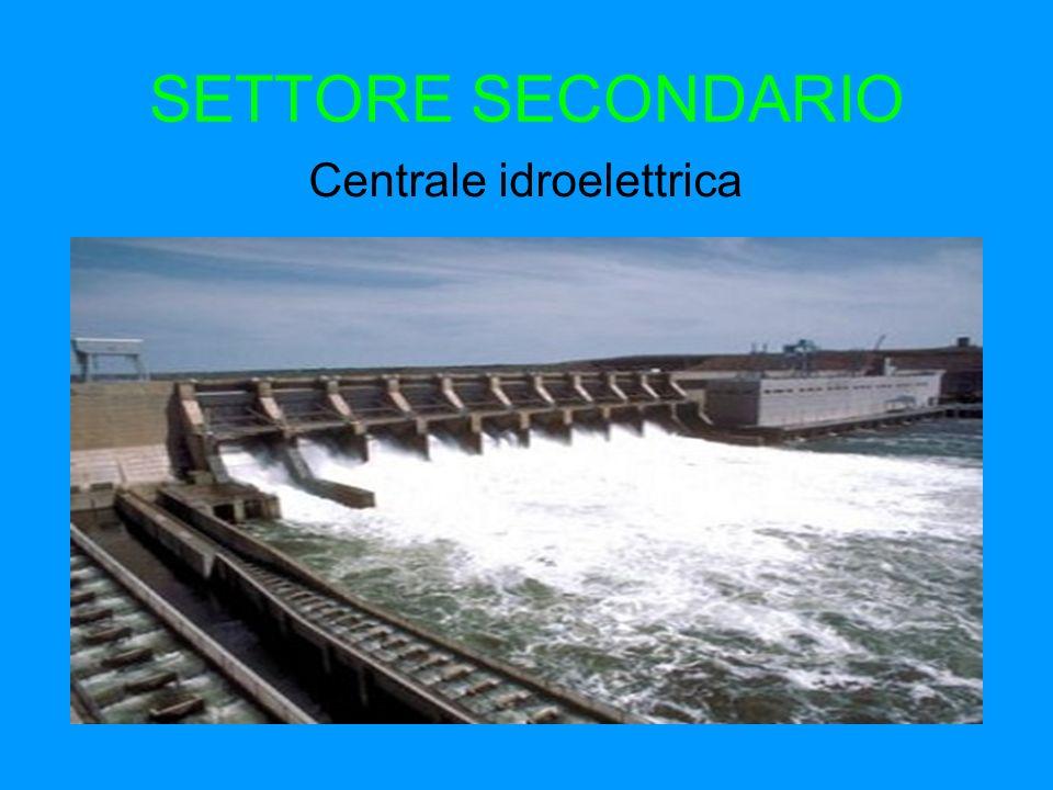 SETTORE SECONDARIO Centrale idroelettrica