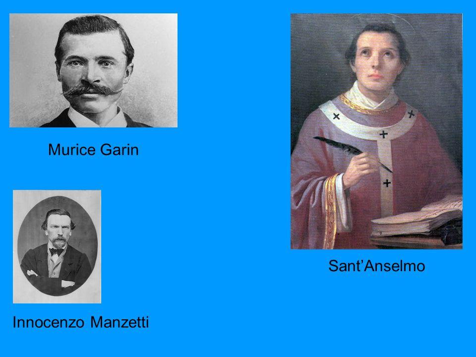 SantAnselmo Murice Garin Innocenzo Manzetti