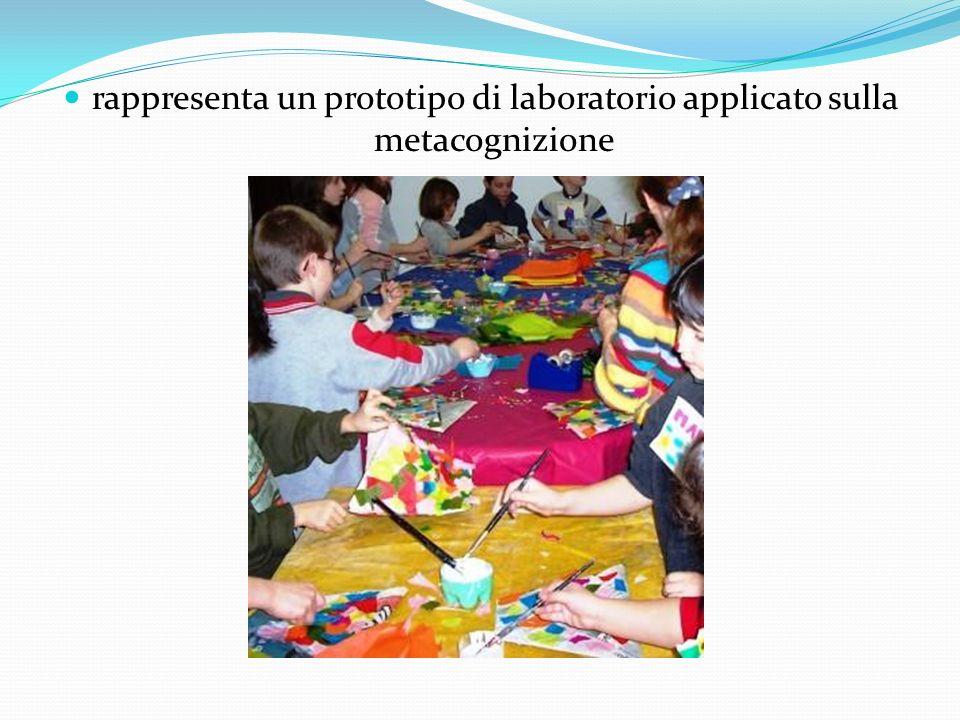 rappresenta un prototipo di laboratorio applicato sulla metacognizione