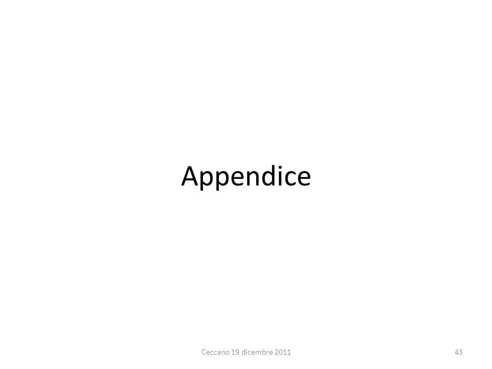 Appendice Ceccano 19 dicembre 201143