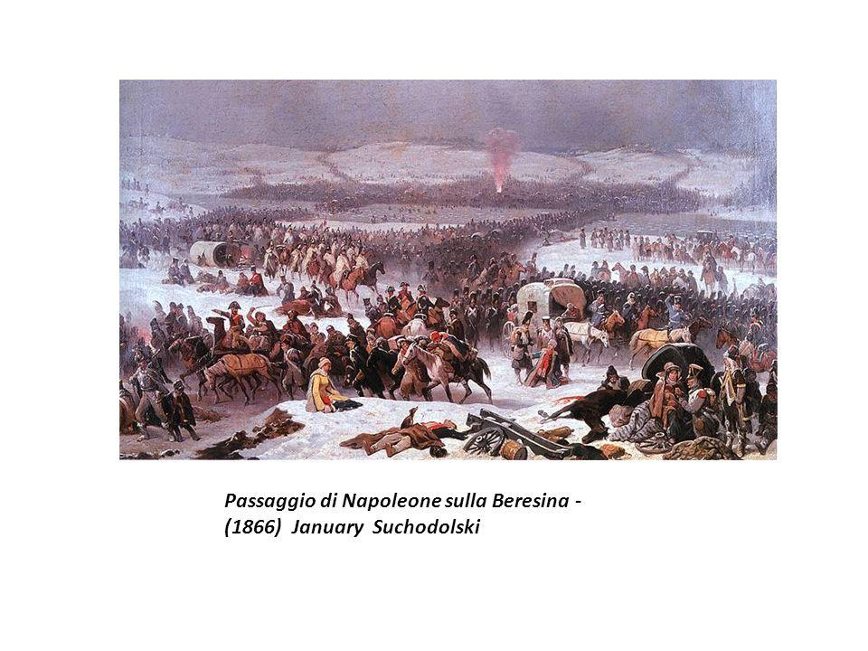 Passaggio di Napoleone sulla Beresina - (1866) January Suchodolski