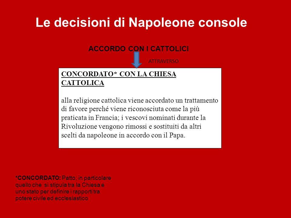 CONCORDATO* CON LA CHIESA CATTOLICA alla religione cattolica viene accordato un trattamento di favore perché viene riconosciuta come la più praticata