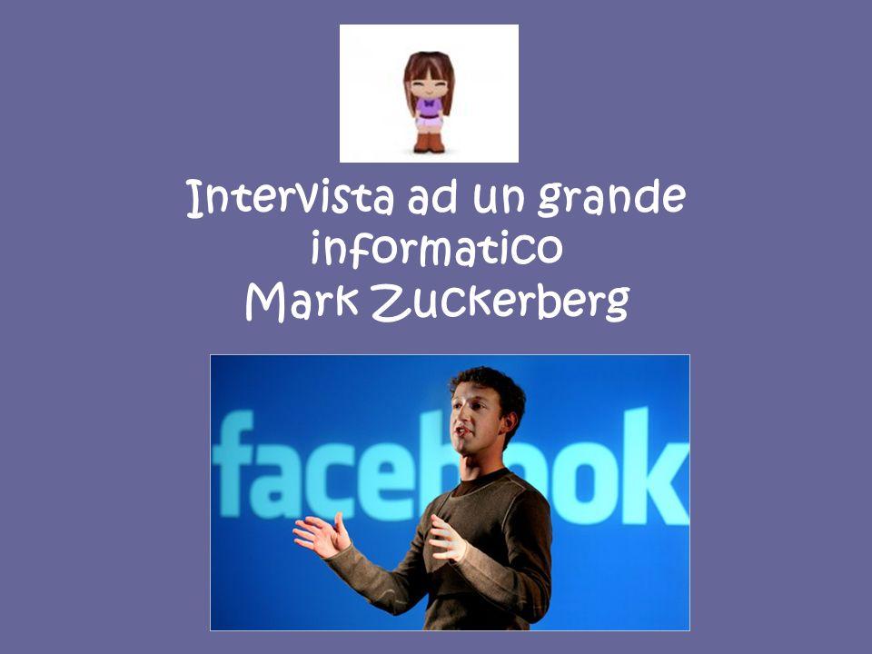Mark Elliott Zuckerberg (Boca Raton, 14 maggio 1984) è un informatico, imprenditore e dirigente d azienda statunitense, fondatore di Facebook.
