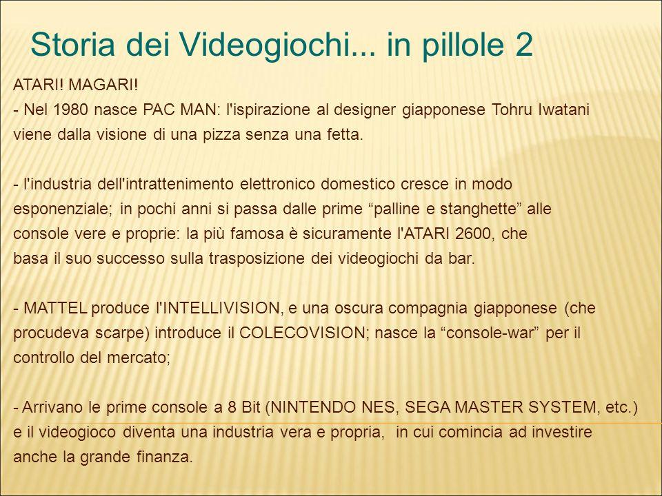 Storia dei Videogiochi... in pillole 2 ATARI. MAGARI.