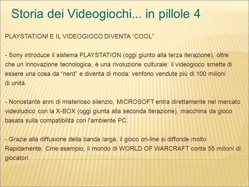 Storia dei Videogiochi... in pillole 4 PLAYSTATION.