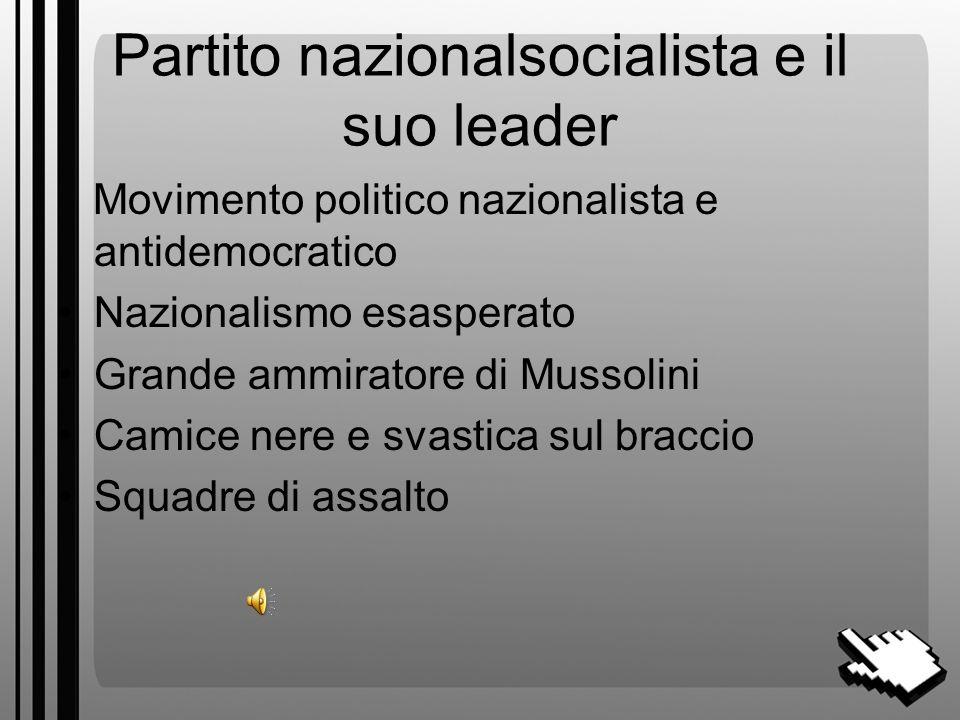 La nascita del Nazismo 1919-1933 a cura del prof.ssa Vittoria Trotta