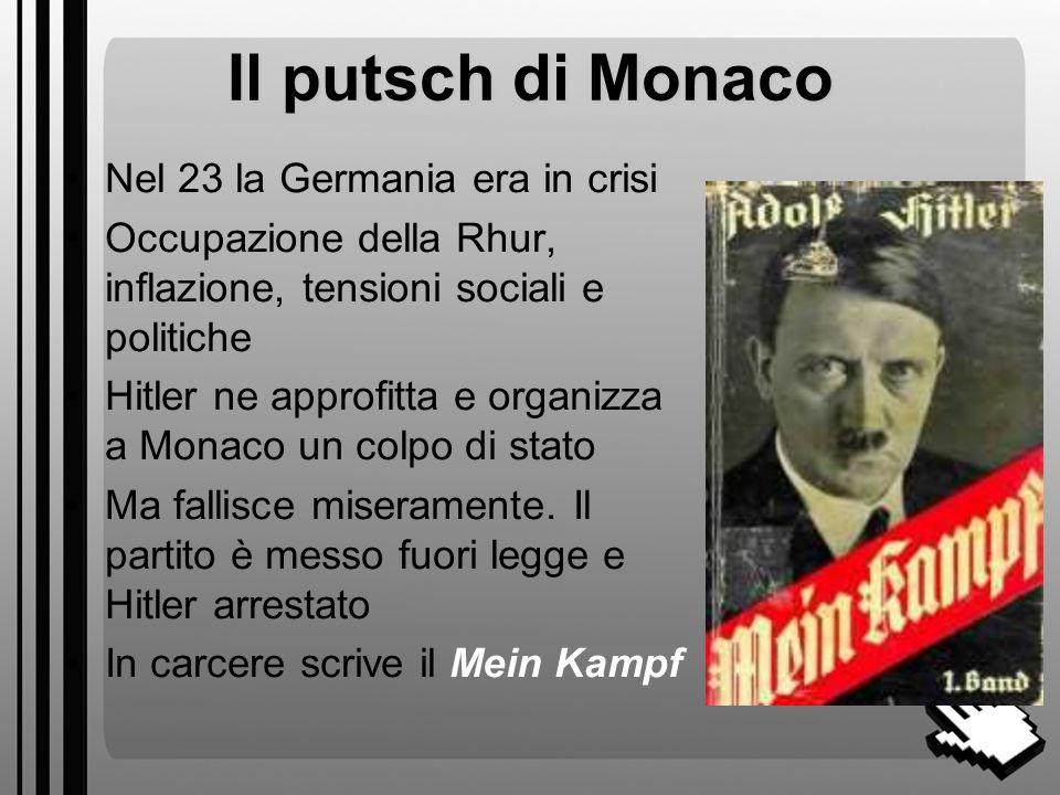 Chi è Hitler? Nasce in Austria (1889) Smette presto gli studi e fa diversi lavori, fra cui limbianchino Volontario della WW1 Rimane deluso dallesito d