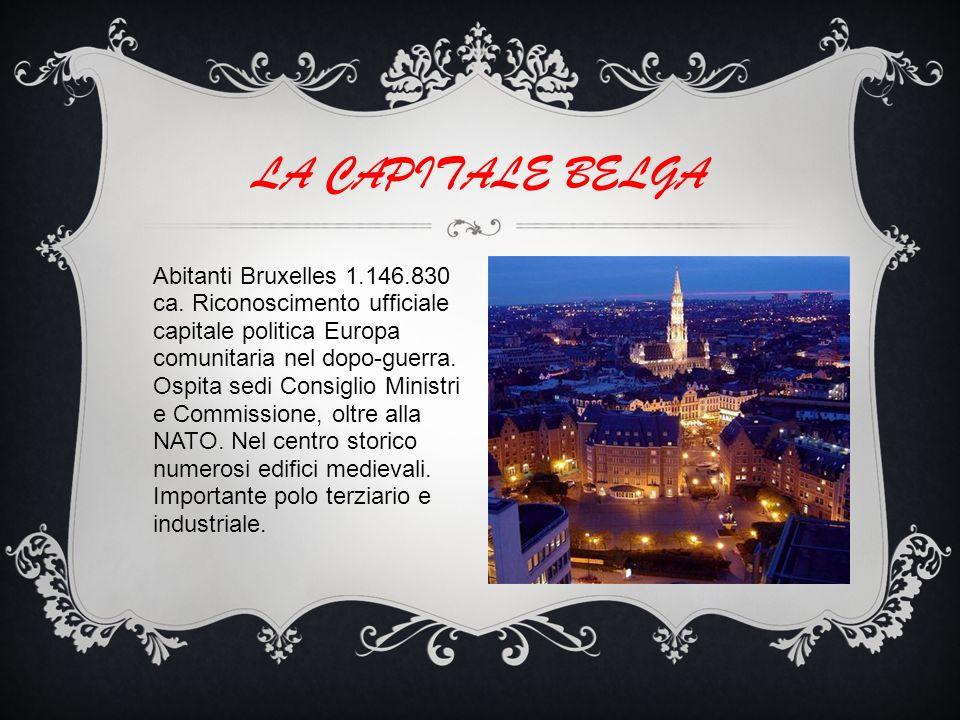 Abitanti Bruxelles 1.146.830 ca.
