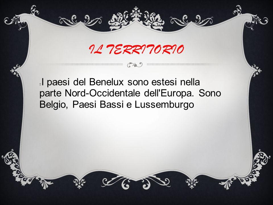 I paesi del Benelux sono estesi nella parte Nord-Occidentale dell Europa.