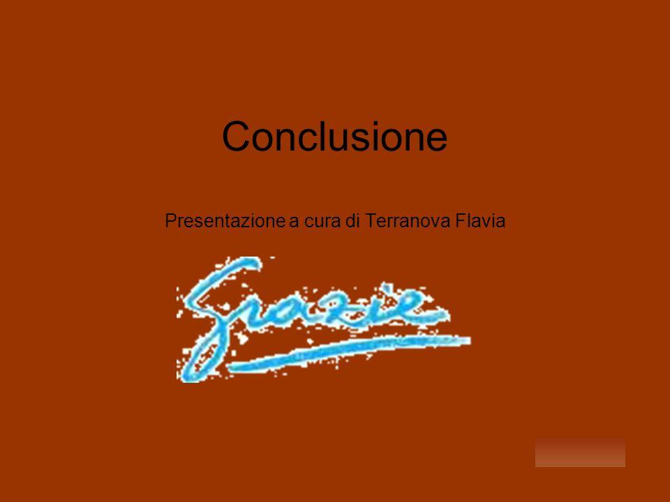 Conclusione Presentazione a cura di Terranova Flavia
