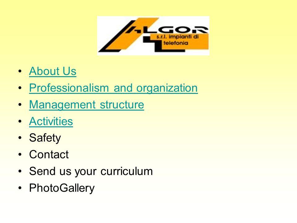 About us ALGOR Ltd.