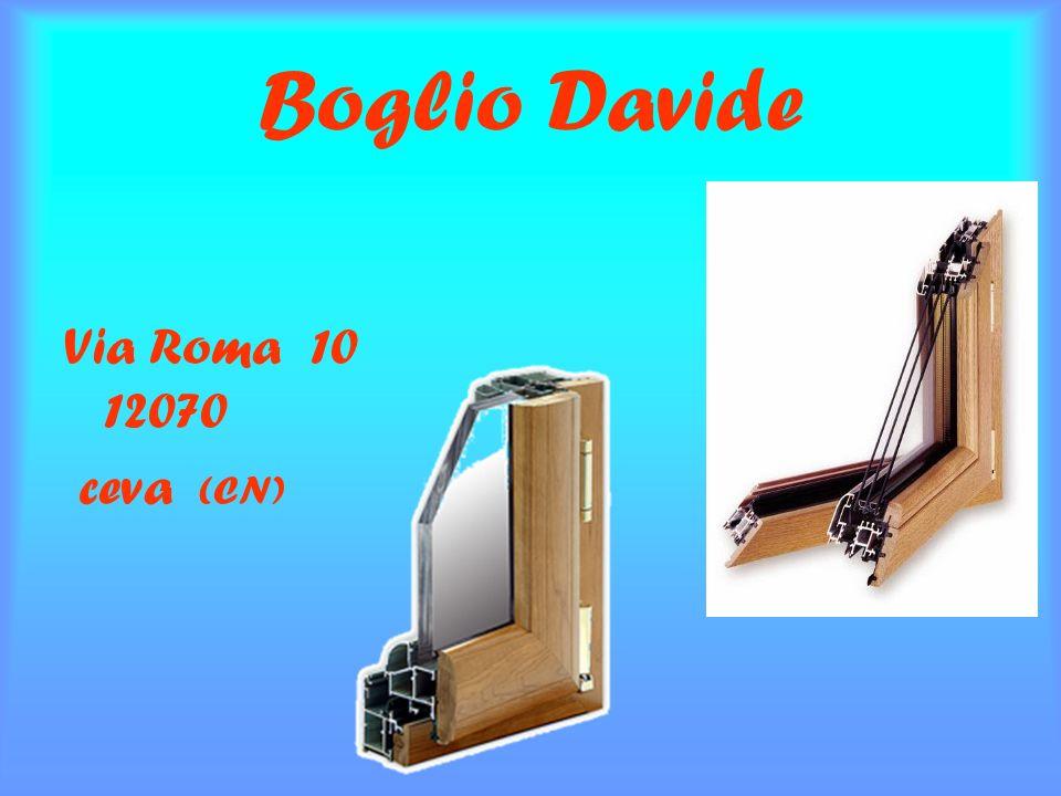 Boglio Davide Via Roma 10 12070 ceva (CN)